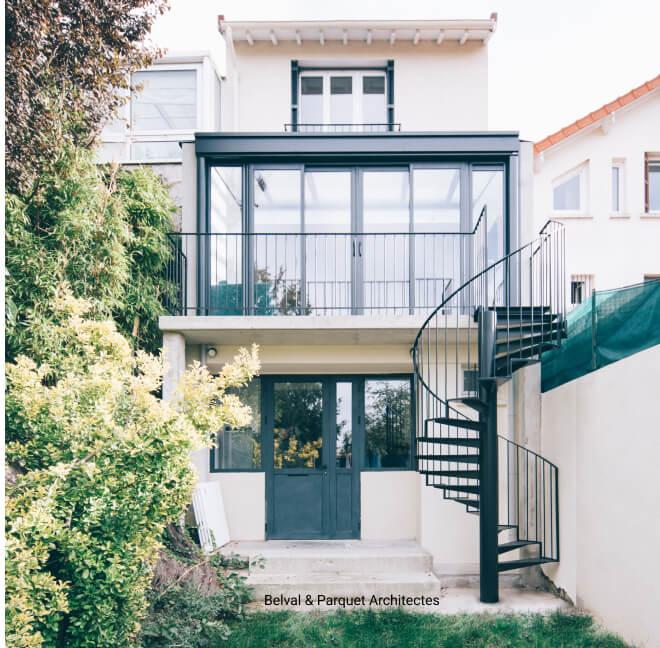 Extension de maison à Paris