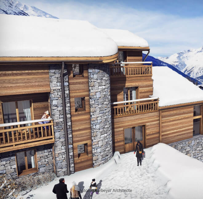 Surélévation d'immeuble : Chamonix, Méribel, Megève, Courchevel