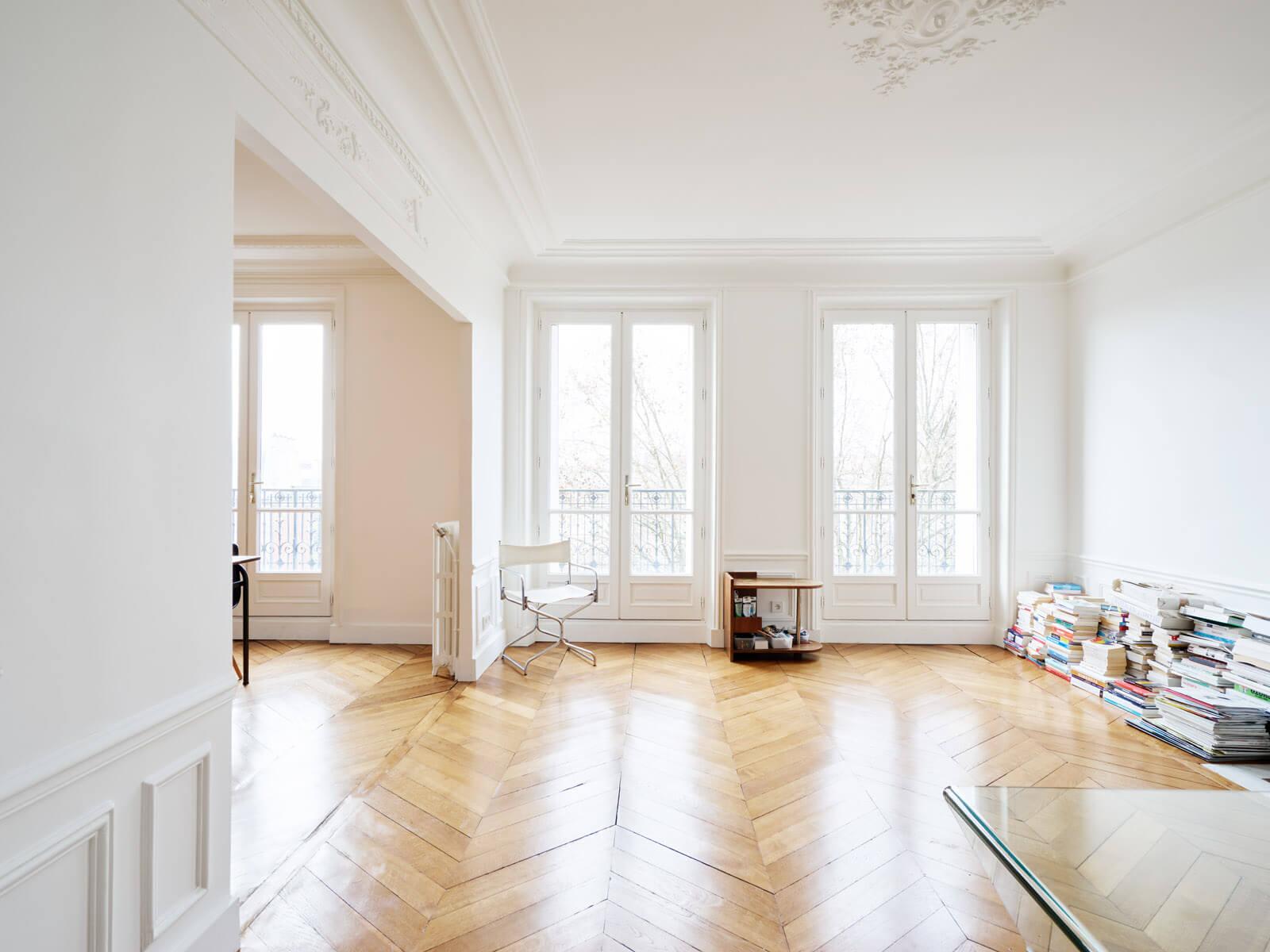 Rénover un appartement haussmannien