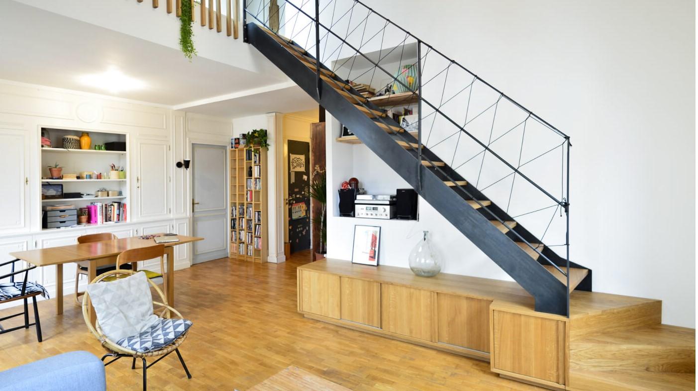 Créer un duplex ou une mezzanine
