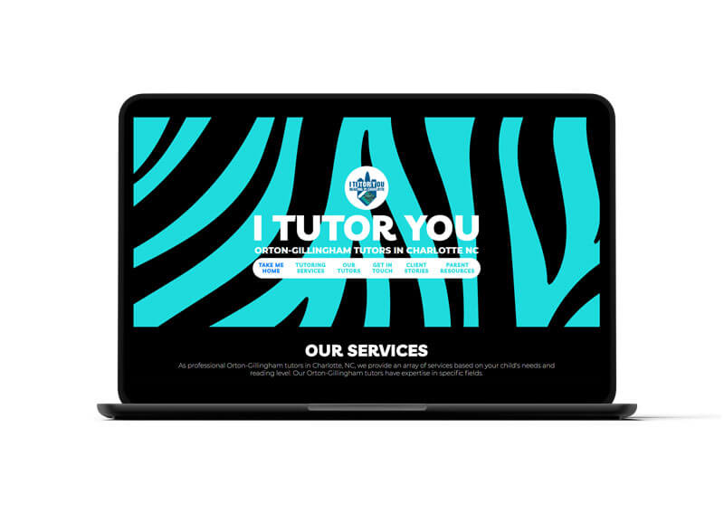 I Tutor You Website Design