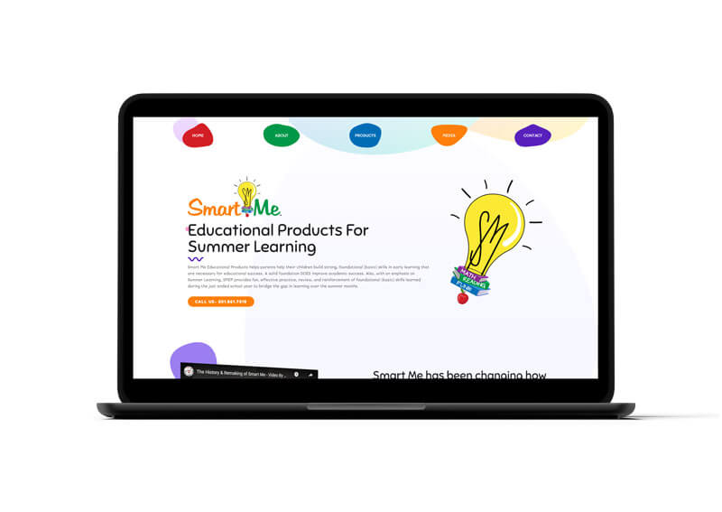 Smart Me Education Website Design