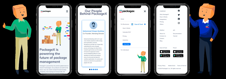 packagex-mobile-screens-ui-mockup