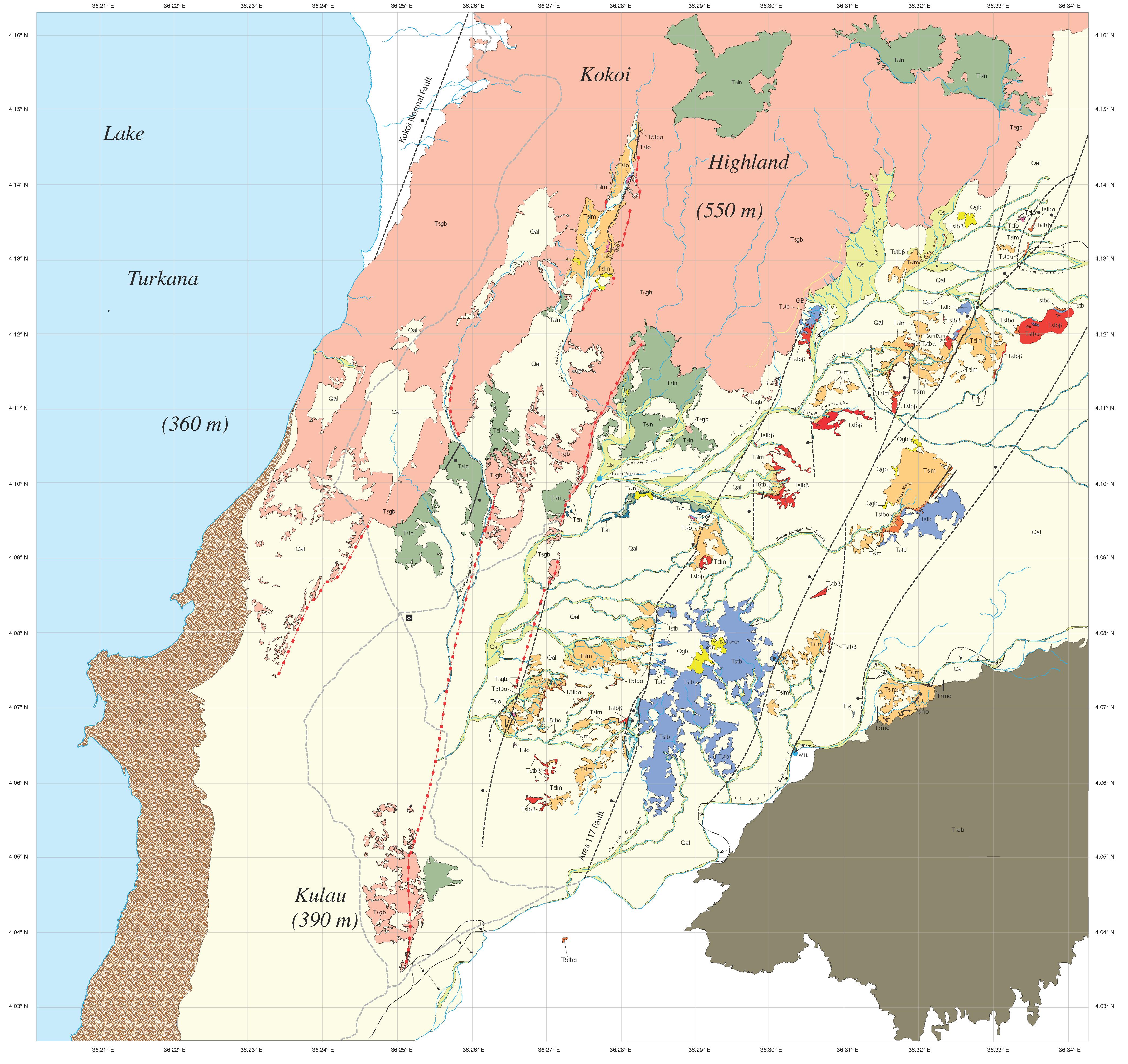 Detailed Geologic Maps