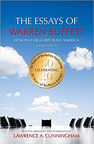 The Essays of Warren Buffett book cover