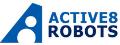 active 8 robots logo