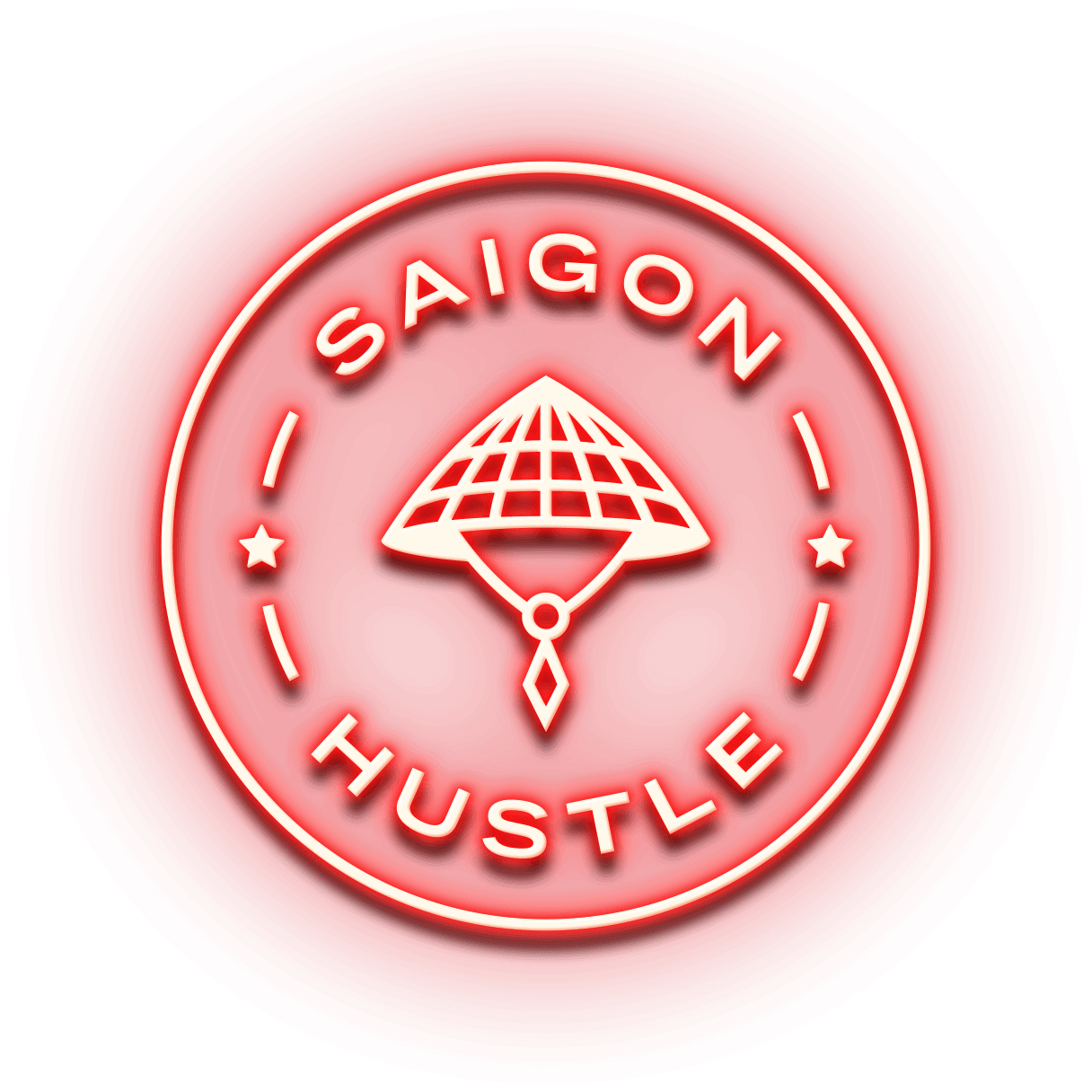 saigon hustle neon logo