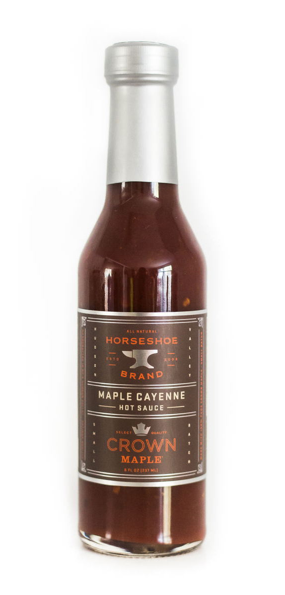 Maple Syrup Hot Sauce Bottle, Crown Maple Hot Sauce