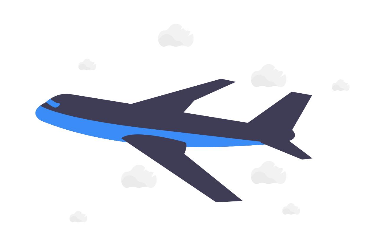 avion cargot prenant son envol pour exporter