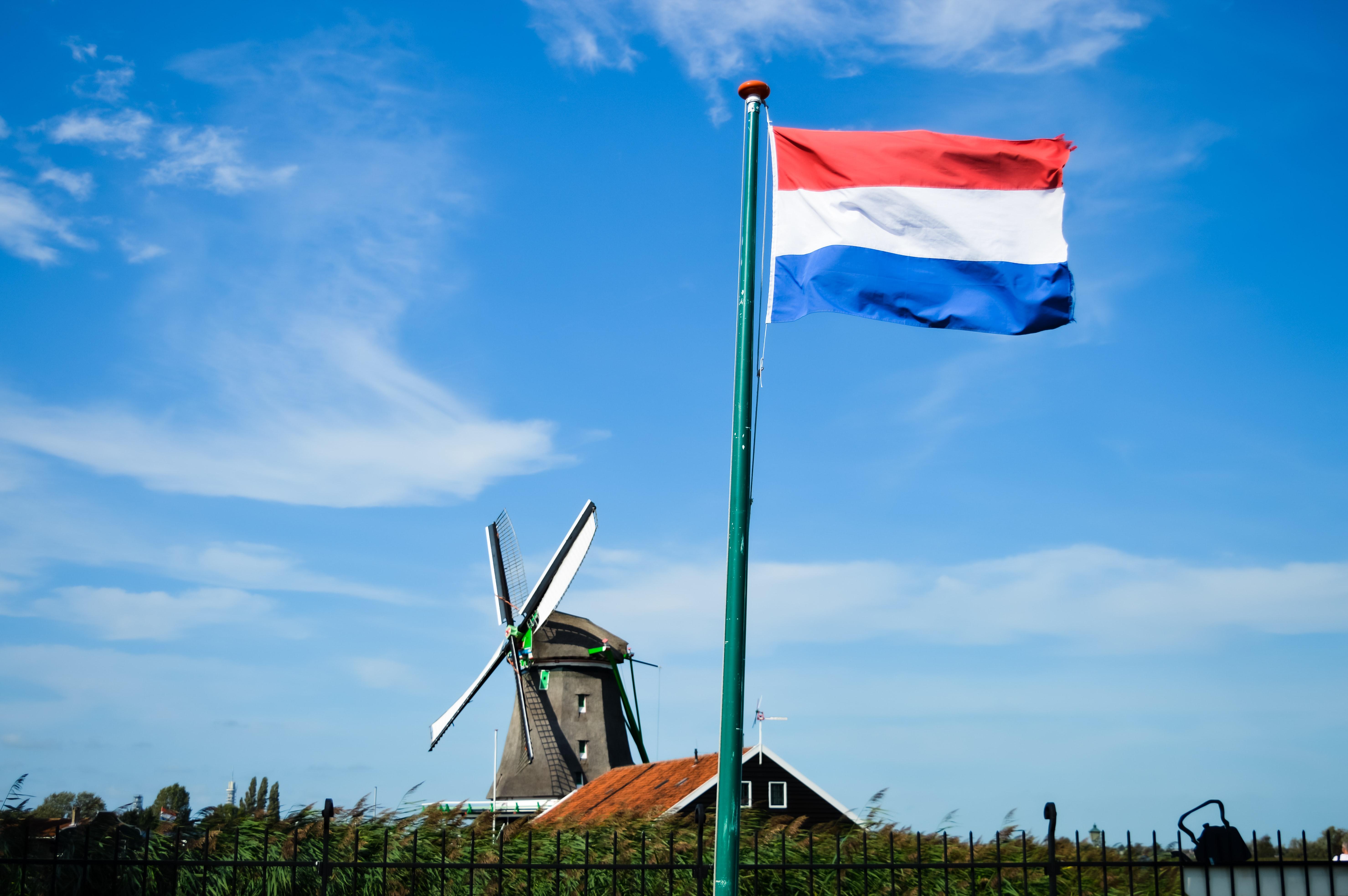 drapeau des pays bas