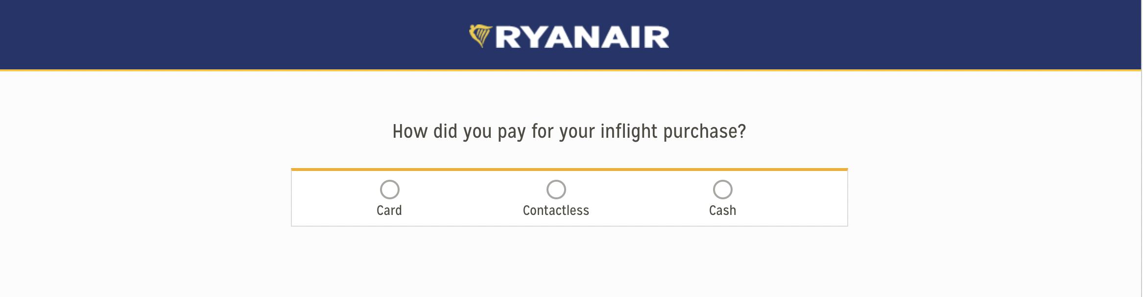 facture Ryanair