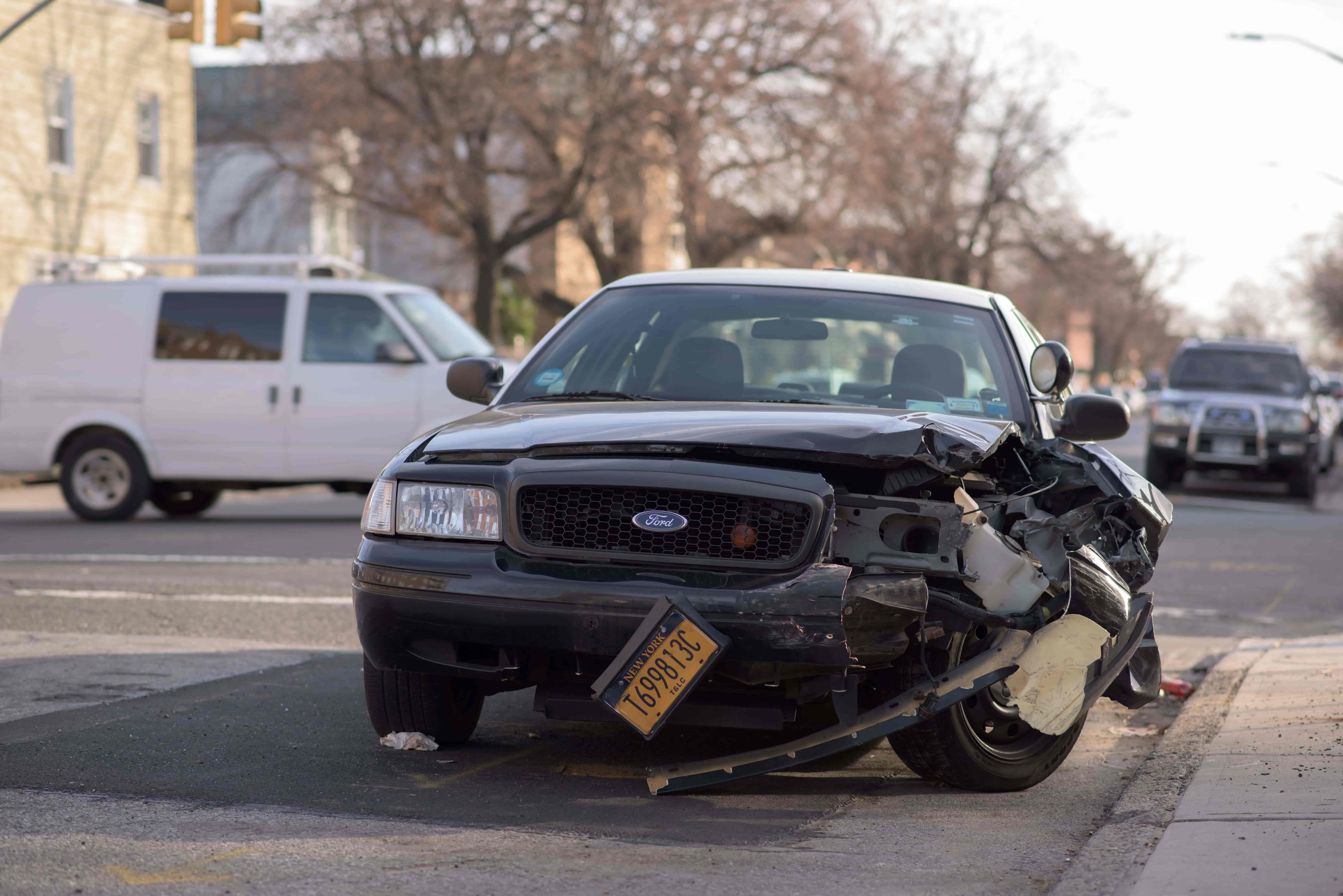 Accident véhicule personnel en déplacement professionnel - Okarito