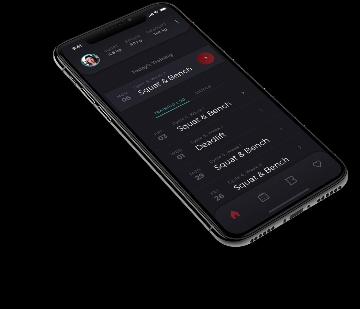 Barbellona mobile app