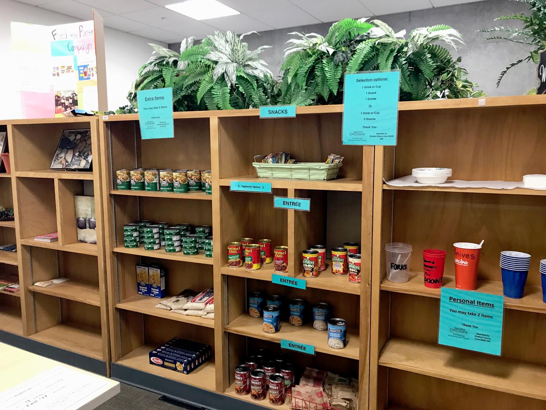 Emergency Food Pantry at San Diego City College