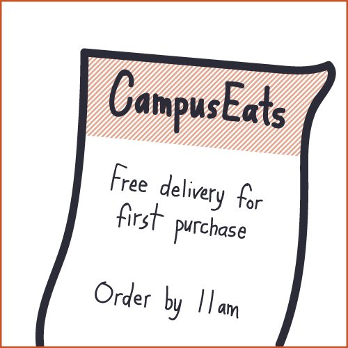 CampusEats flyer