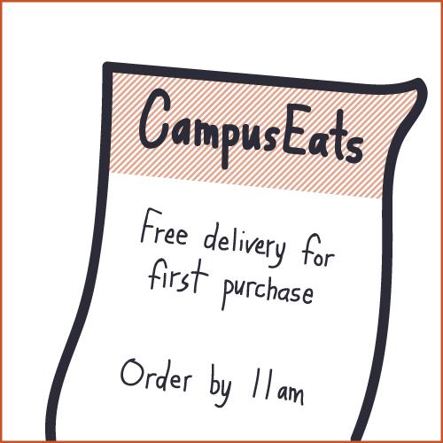 CampusEats flyer