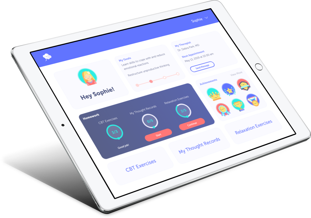ThinkBetter tablet app