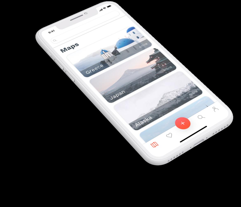 Hitmap mobile app