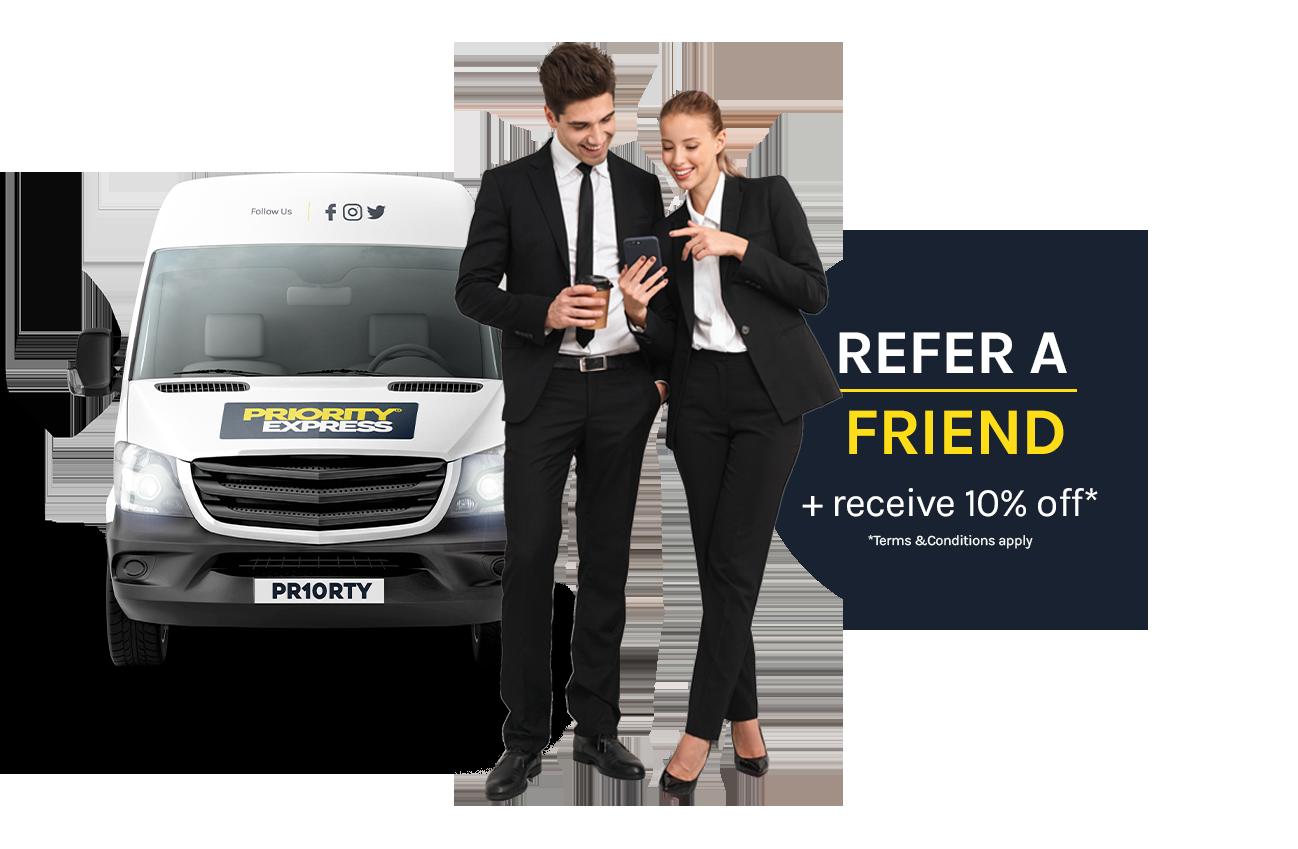Refer a friend discount