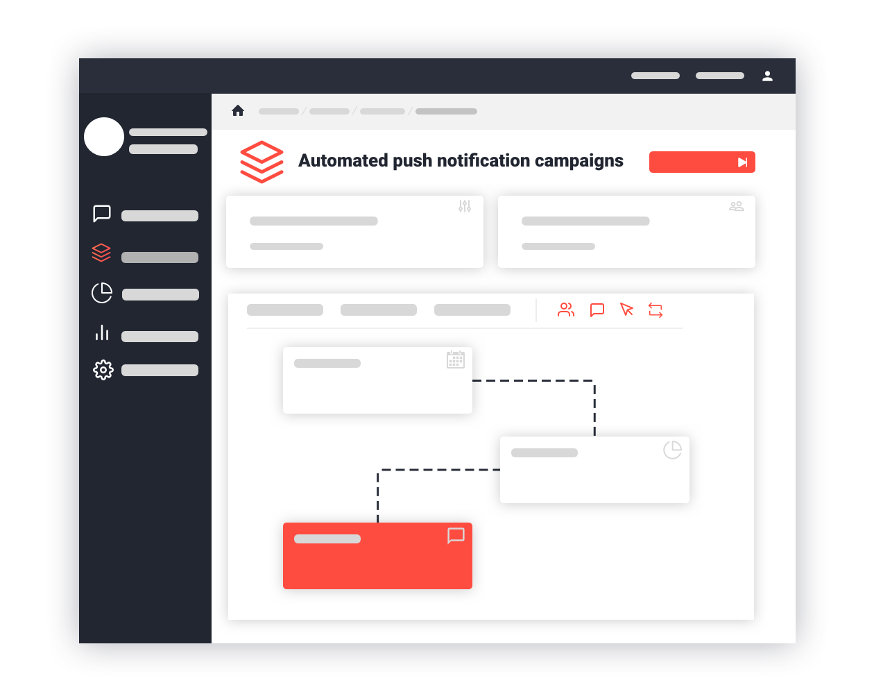 Automate your push notifications and scale up your marketing with drip campaigns