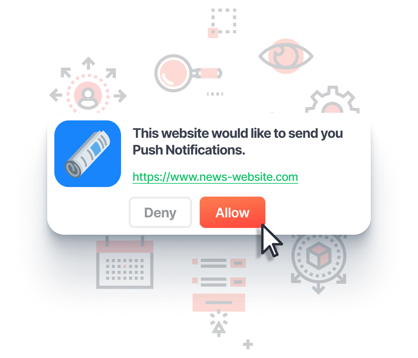 Push notification opt-in