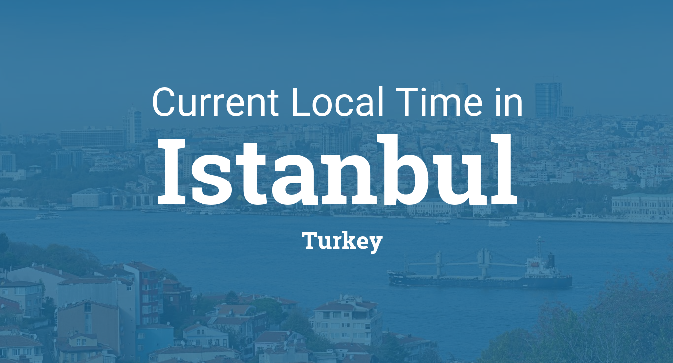 Link to current time in Istanbul