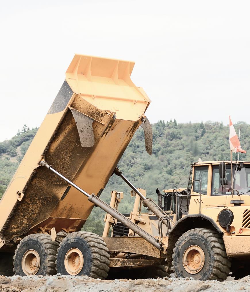 dump truck example image