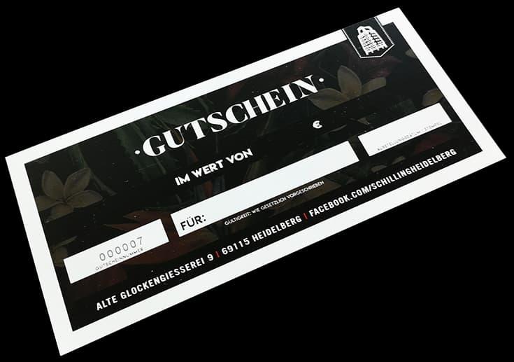 Gutscheine Schilling Heidelberg