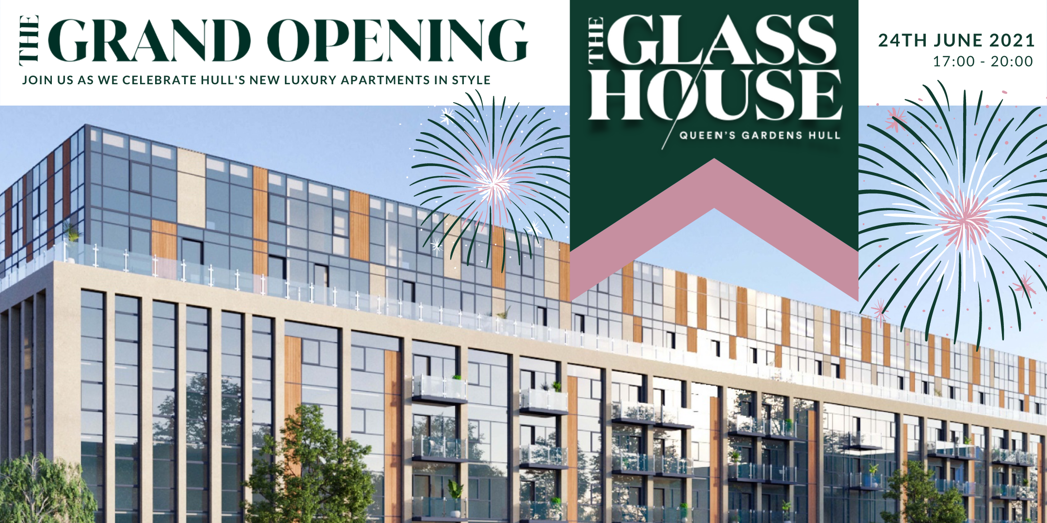 The Grand Opening at The Glass House Apartments