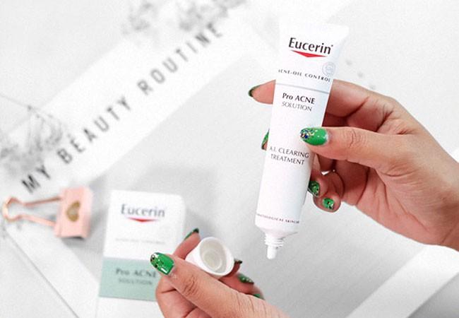 [ REVIEW ] Kem trị mụn Eucerin có tốt không ? Công dụng + thành phần sản phẩm