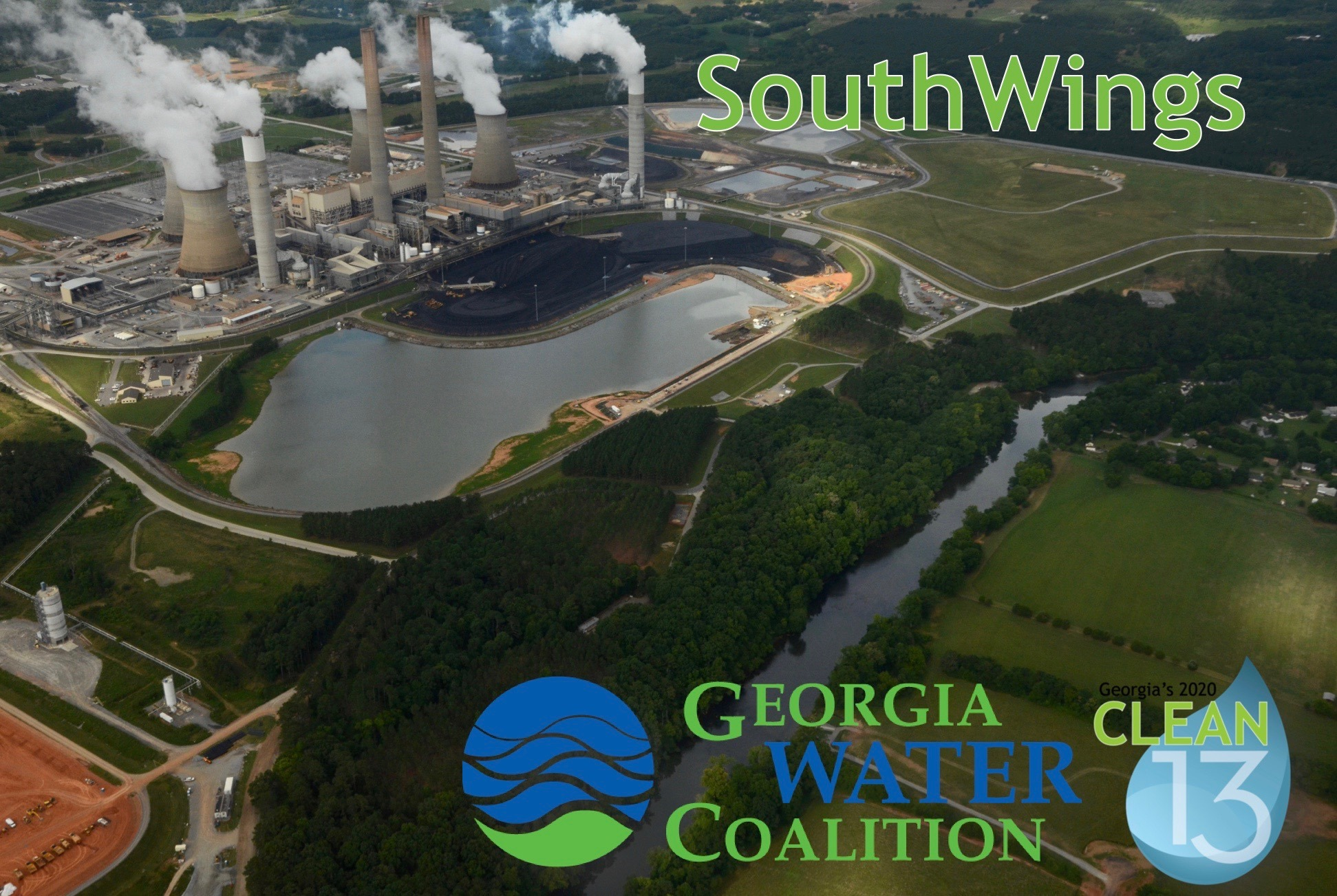 SouthWings named to Georgia Water Coalition's Clean 13 Report