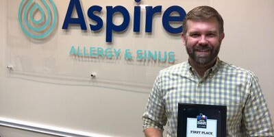Dr. Silvers Wins Best Allergist Award In Annual Statesman Contest