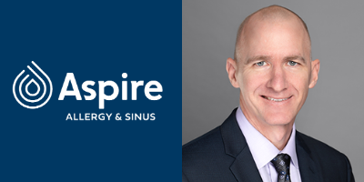 Aspire Allergy & Sinus Welcomes Dr. Kirk Waibel to their San Antonio clinics!