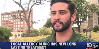Allergy clinic has new long lasting treatment to help allergy sufferers!