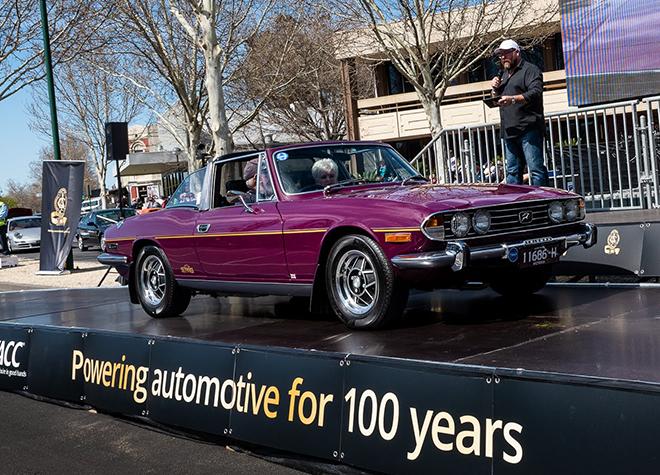 VACC Centennial Cavalcade and Show 'n Shine - 1974 Triumph Stag