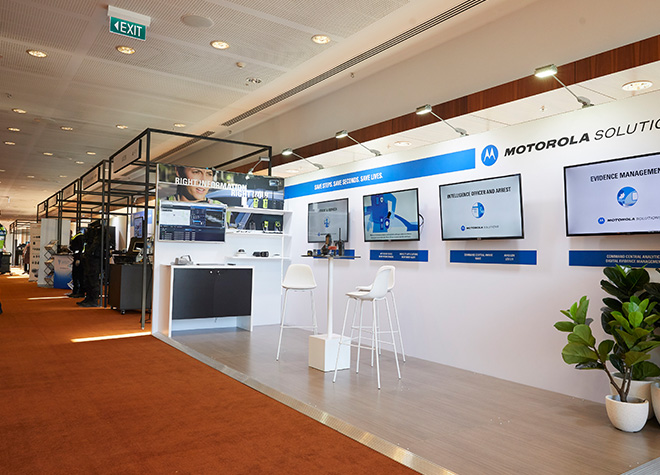 ANZPAA - Police Conference - Exhibition stands