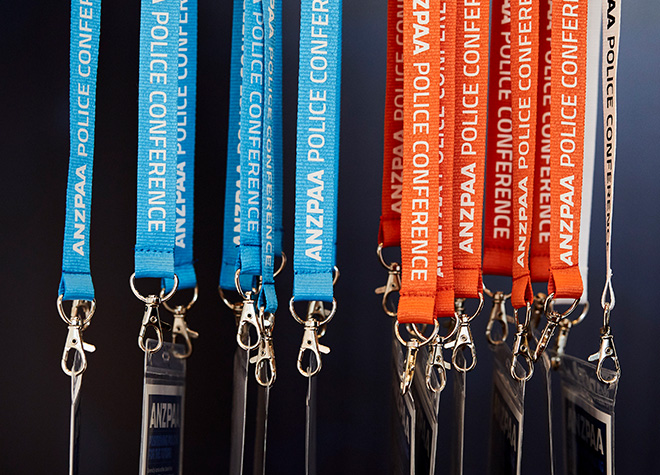 ANZPAA - Police Conference - Lanyards