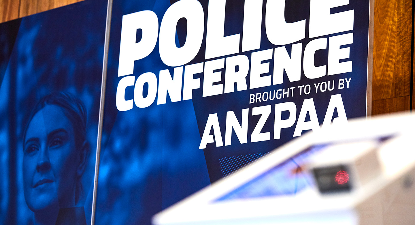 ANZPAA - Police Conference - Poster