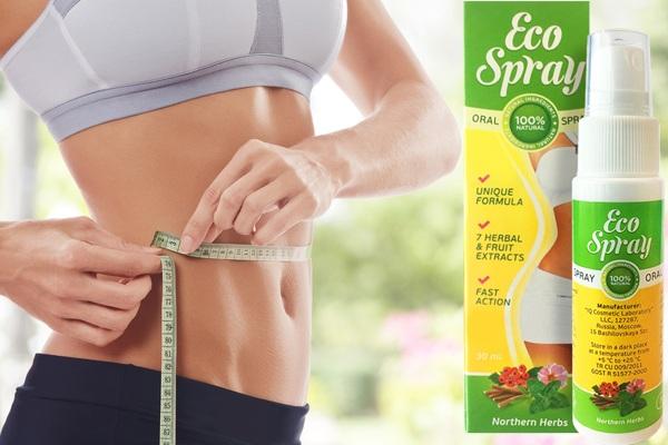 3.Thuốc xịt miệng Eco Spray – giảm cân chỉ là chuyện nhỏ