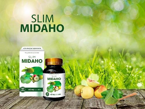 5. Slim Midaho - thuốc giảm cân cho cho chị em sau sinh