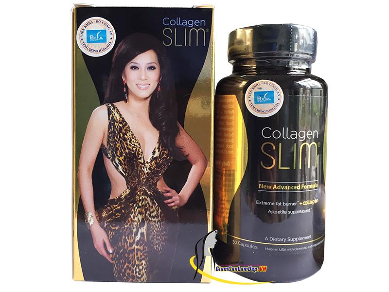 10. Viên uống giảm cân Collagen Slim