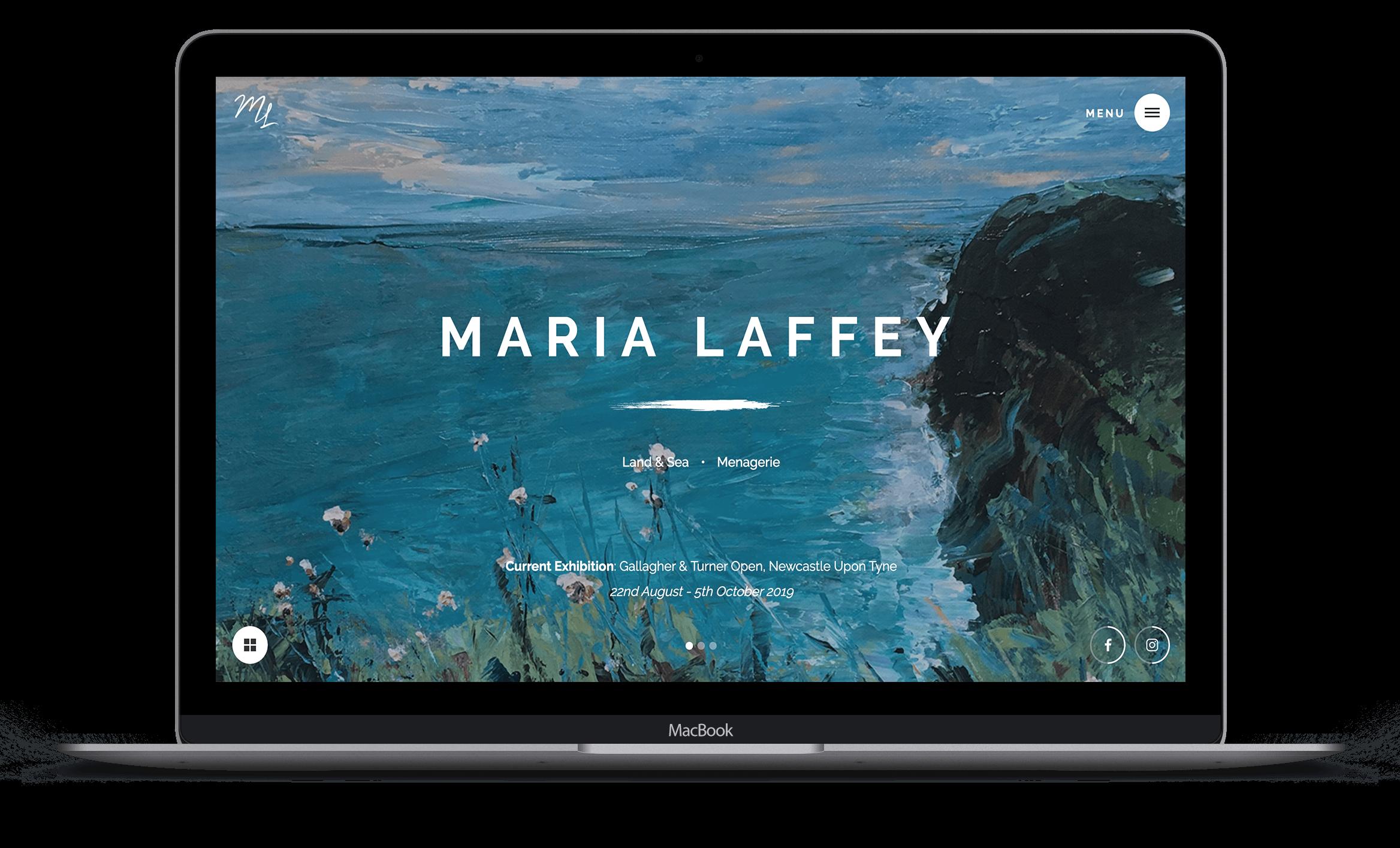 Amelie Morweiser Web Design Work