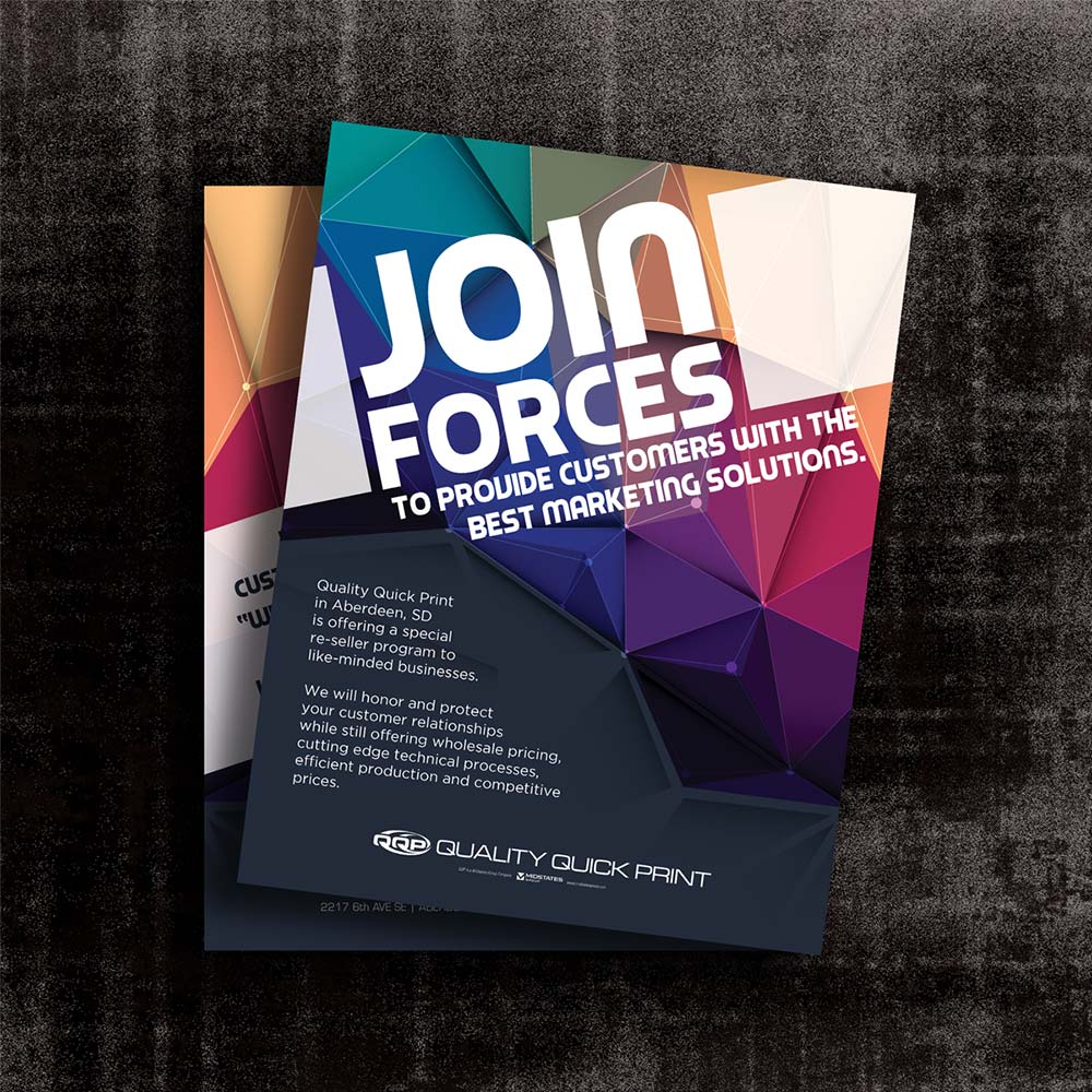 join forces flyer