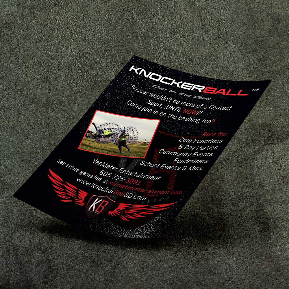 knocker ball flyer