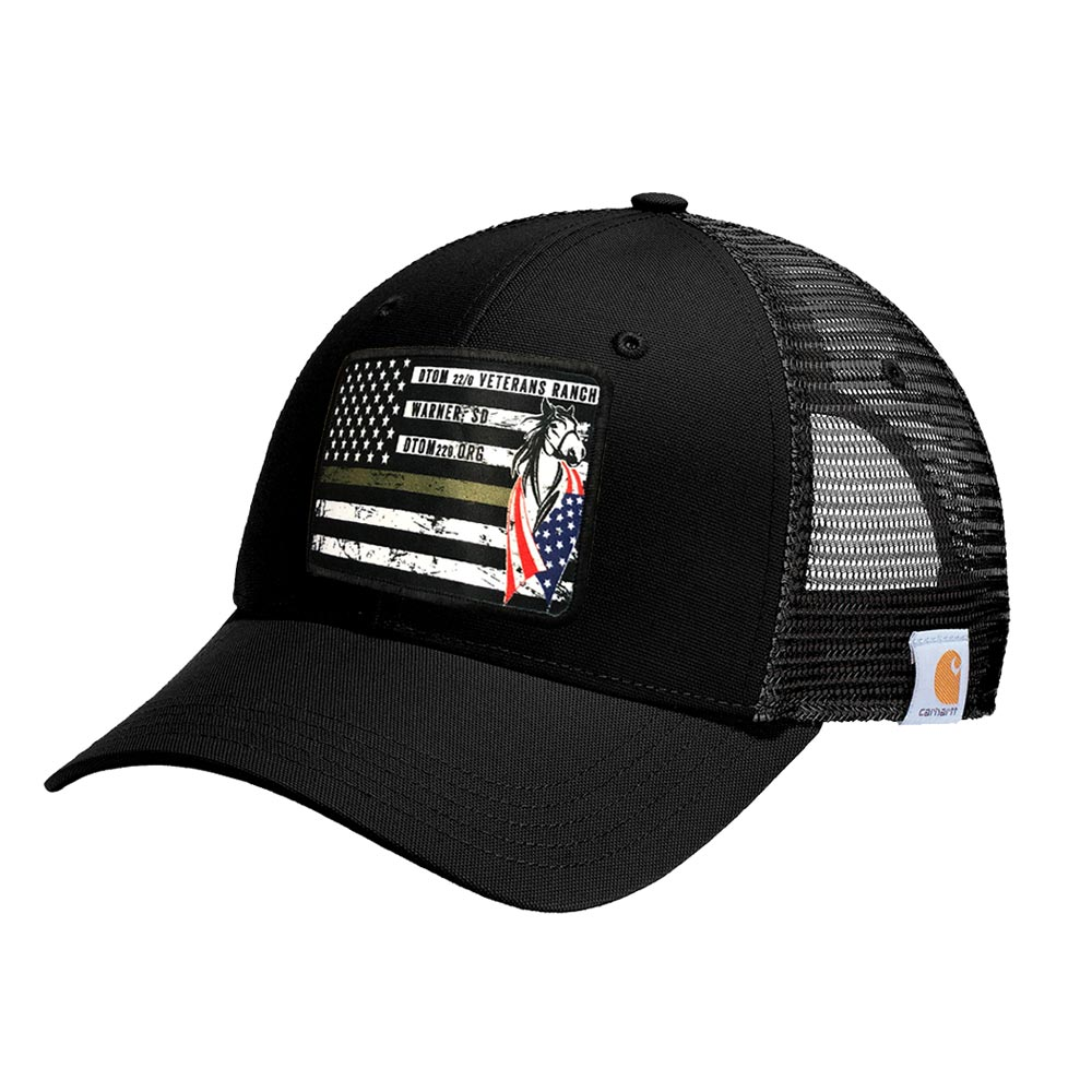 dye sublimated patch hat