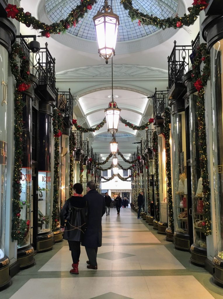 The beautiful (and wildly pricey) Burlington Arcade