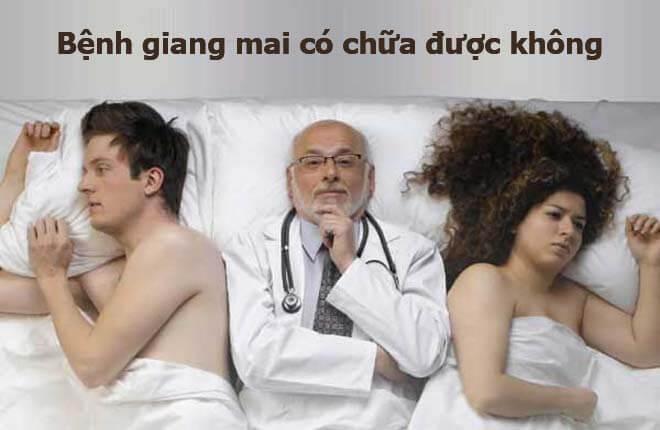 Bệnh giang mai có chữa được không