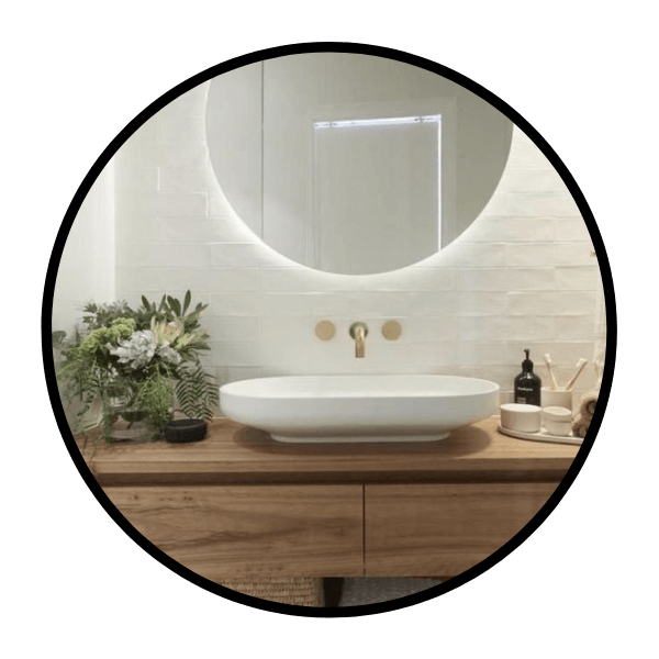 blandare mässing badrum