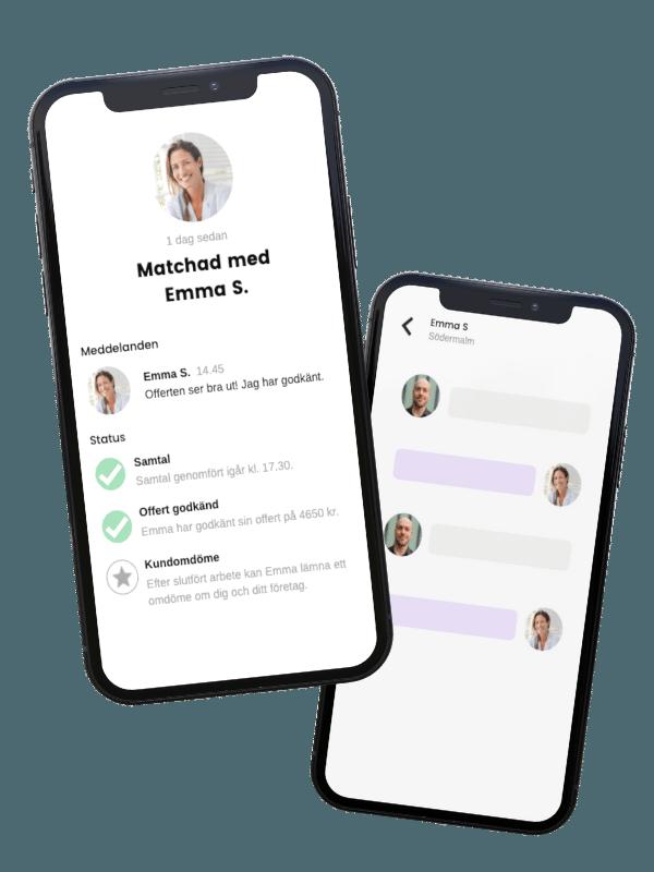Smart app för hantverkare i Stockholm