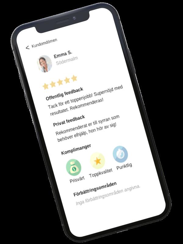 trygg och smidig kommunikation i done appen